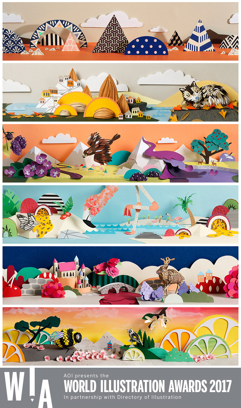 Ten Miles East wine label illustrations_World Illustration Awards shortlist