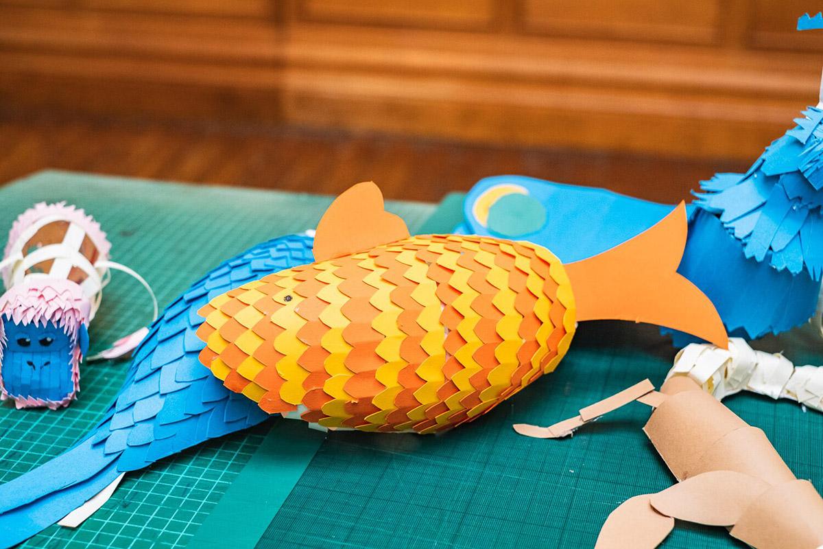 paper-cutting workshop